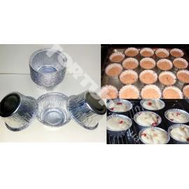Порционные формочки для выпекания,плотные,из фольги 55/40  10шт