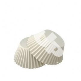 Бумажная форма для маффинов белая 50/30  примерно100шт