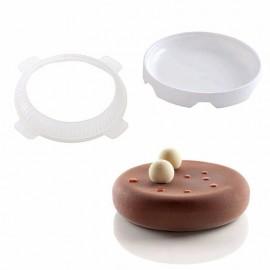 Форма силиконовая Эллипс, диаметр 18см , высота 4,5см