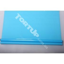 Рулон тонированный голубой 60см 12м