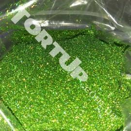 Блёстки Диско весенняя зелень 100г