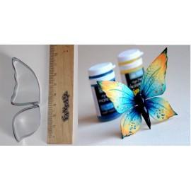 Вырубка металл Бабочка