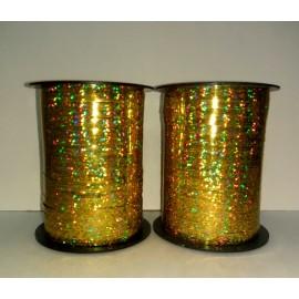 Лента в катушке золото голография