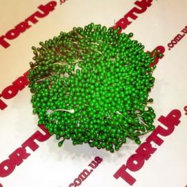 Тычинки маленькие зелёные примерно 80шт
