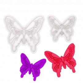 Плунжер Бабочки из 2х шт, малый 6*5,5см, большой 9*8см