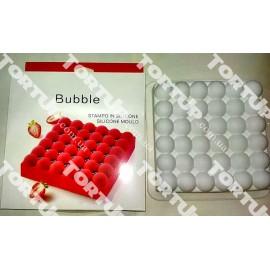 Силиконовая форма для евро-десертов Bubble, глубина 4см, 19*19см