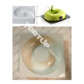 Форма силиконовая для евродесертов Бублик, размер d-17см ширина кольца 6см,высота 5см