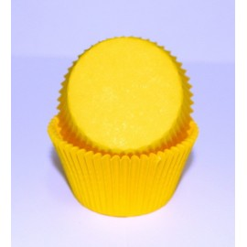 Бумажная форма для маффинов 50/30 Желтая 50шт