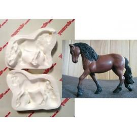 Молд 3D Конь высота 9см, ширина 10см
