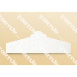 Салфетка пергаментная порционная Белая 50шт, длина 22см, высота 7,5см