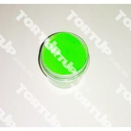 Пигмент (сухая пыльца) Зеленый электрик 10г