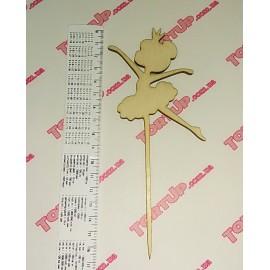 Топпер Балерина, 17см