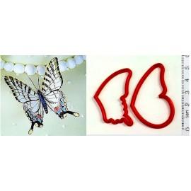 Пластиковая вырубка Бабочки