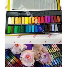 Пастель, замена Сухим краскам-пыльца, набор 32 цвета