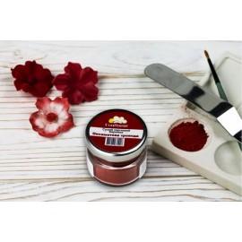 Краситель сухой(пыльца) Confiseur Багряная роза 20мл