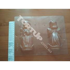 Форма для шоколада 3D Ангел, размеры ангела 13,5*6,2*5,6см