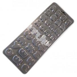 Пластиковая форма для шоколада и мастики Детский алфавит Размер молда: 27см * 10,5см