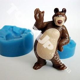 Молд 3D Медведь Маши малый