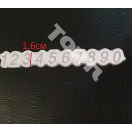 Молд силиконовый для леденцов цифры
