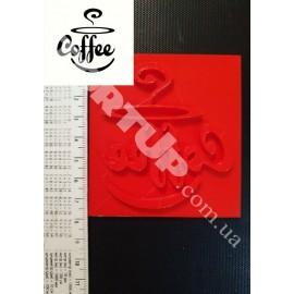 Пластиковый штамп Coffee
