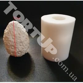 Молд 3D Яйцо с ромашками 7см