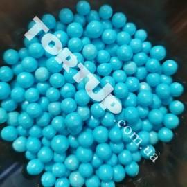 Драже голубые глянец  5мм 20г