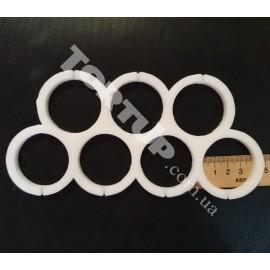 Молд силиконовый для леденцов Круги без дна 4см