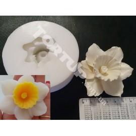 Молд силиконовый 3D Нарцисс  8см