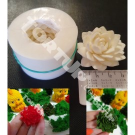 Молд силиконовый 3D Кактус 2,5*4см