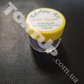 Блёстки Диско серебро 1 баночка Производитель Великобритания