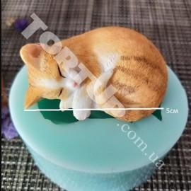 Молд силиконовый Котёнок 5см