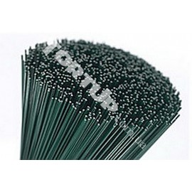 Стебель зеленый без ленты  0,9мм, 40см-60шт