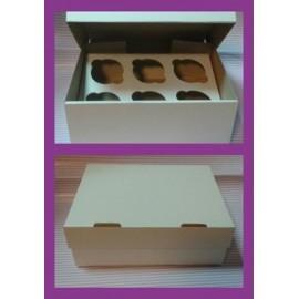 Коробка для маффинов на 12шт