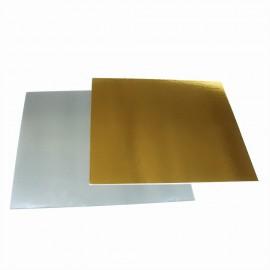 Подложка серебро/золото 1мм 30*30