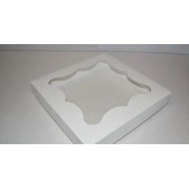 Коробка для пряников  15.2*15.2*2.6 см