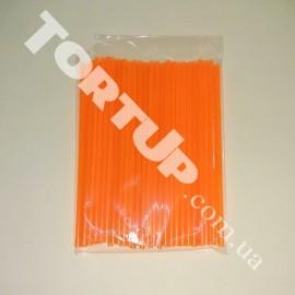 Палочки для кейк-попсов 150мм 50шт оранжевые