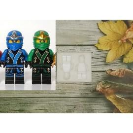 Молд Лего человечки Ниндзяго