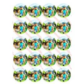 Вафельная картинка Майнкрафт 031
