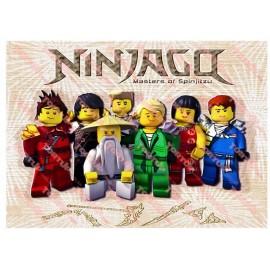 Вафельная картинка Ниндзяго 033