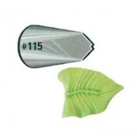 Насадка Атеко №115 лист, верх 18мм, низ 25мм