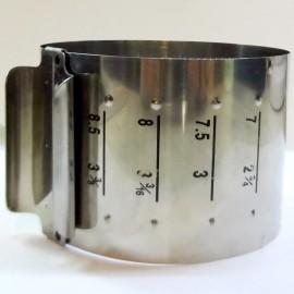 Форма металлическая круглая разъёмная Мини до 8см
