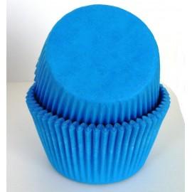 Бумажная форма для маффинов Голубая 50/30 50шт