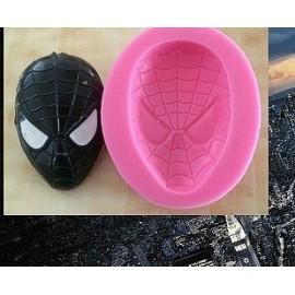 Молд Маска человека паука  6*4см