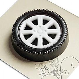 Форма для шоколада Колесо 90 х 15 мм