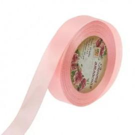 Лента атласная 9мм Нежно розовый