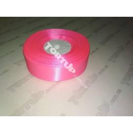 Лента атласная 25мм Розовый