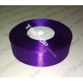 Лента атласная 25мм Фиолетовый