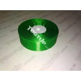 Лента атласная 25мм Зеленый