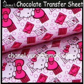 Трансфер для шоколада Китти 32*20 см.