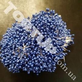 Тычинки маленькие голубые примерно 80шт